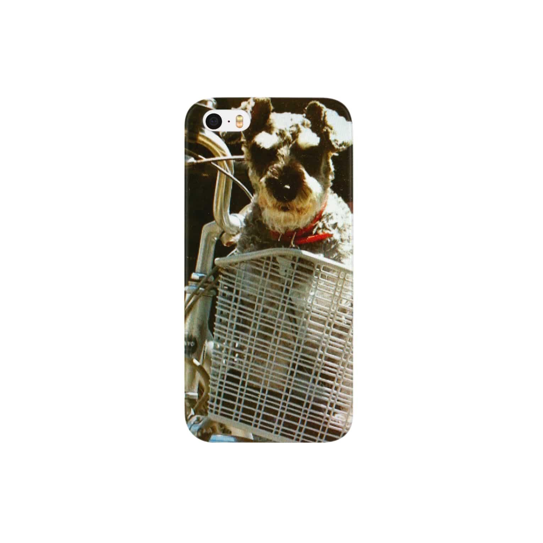 カピのシュナ自転車にのる Smartphone cases