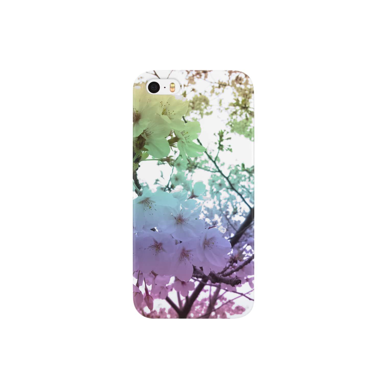 レオナのColorful Photo(SAKURA) Smartphone cases