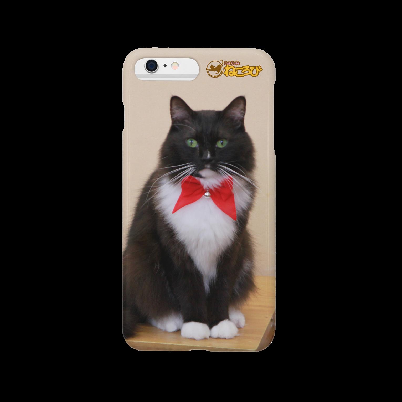Cat Cafe ねころびのフィガロiPhoneケーススマートフォンケース