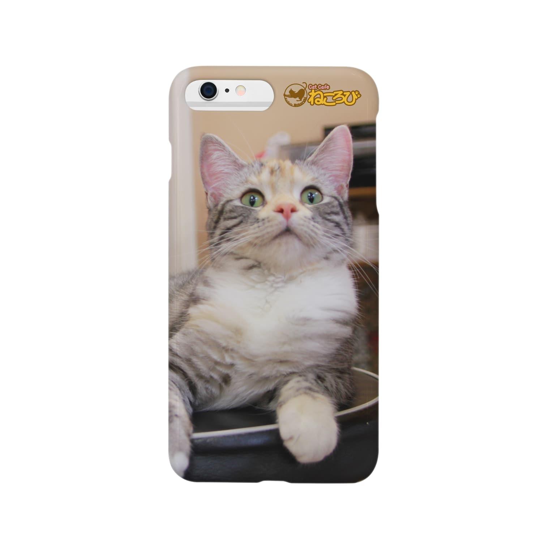 Cat Cafe ねころびのめいiPhoneケース スマートフォンケース