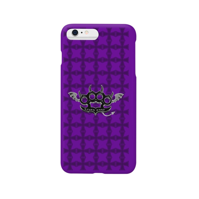 Ryoku のRyoku-Knuckle devil bp-phone6+ Smartphone cases