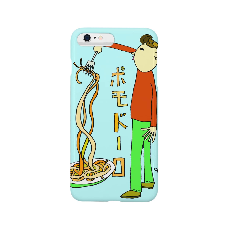 よしのなぽり on lineのポモドーロ  Smartphone cases