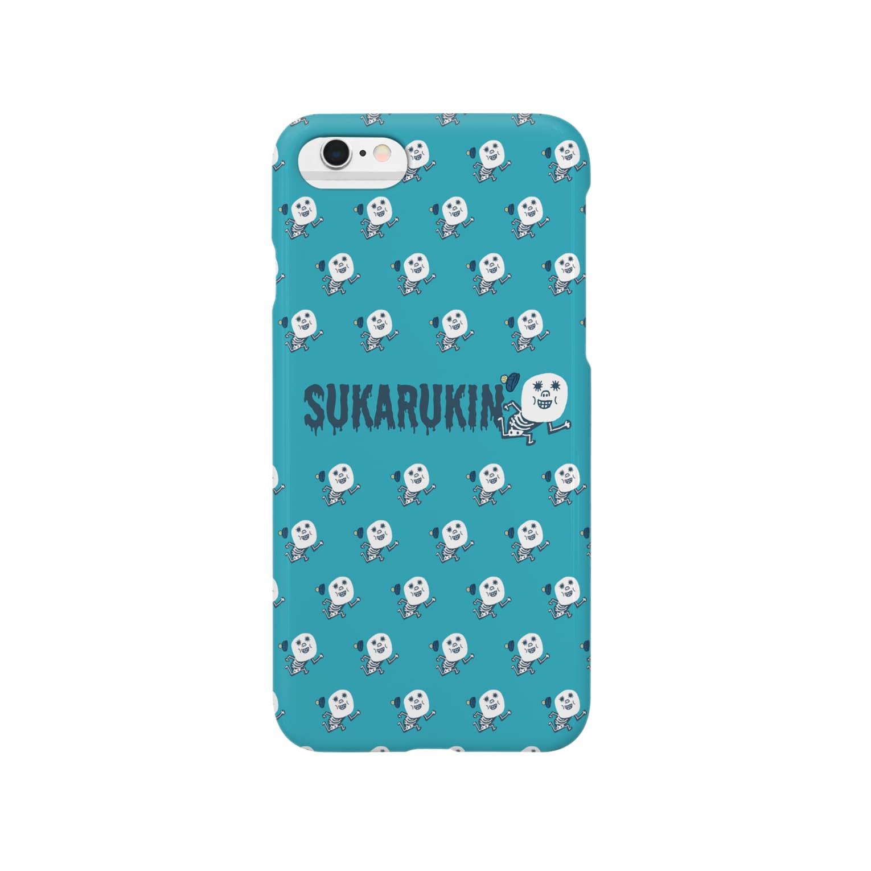 tunのSUKARUKINアイフォンケース Smartphone cases
