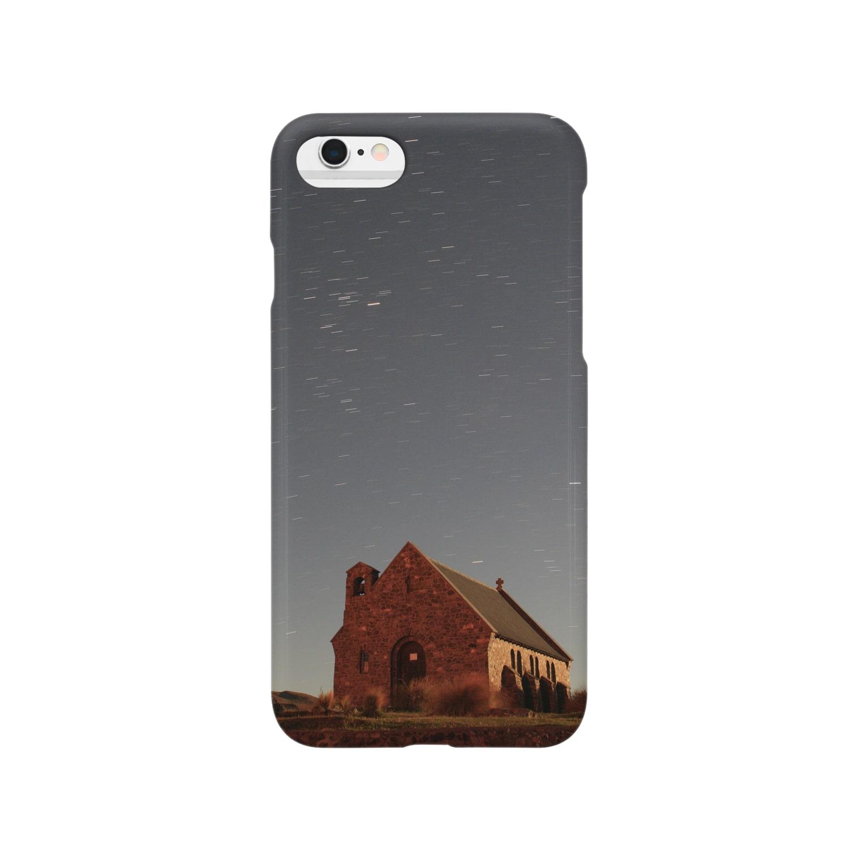 Yochan_zzzのテカポの星空 Smartphone cases