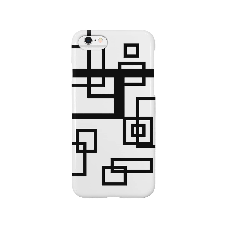 misc.aiのアールデコ調 Smartphone cases