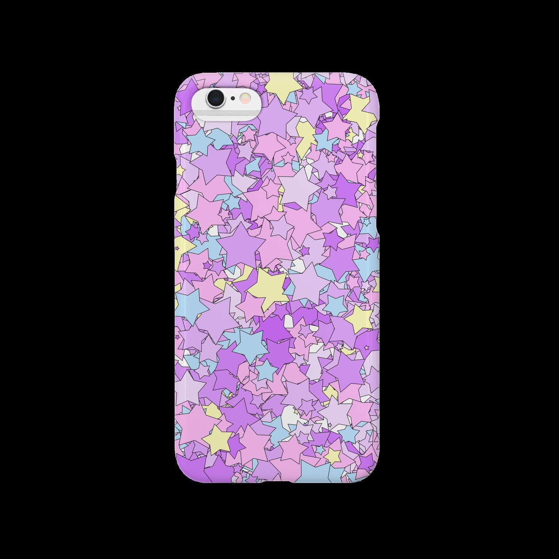 Stars(Pop & YumeKawaii color) スマートフォンケース
