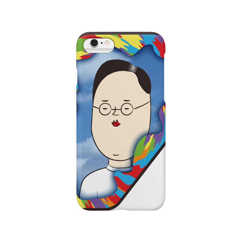 OZA_WORLDの平常心 Smartphone cases