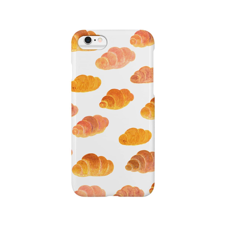 六百田商店°(ろっぴゃくだしょうてん)のロールパンの行進 Smartphone cases
