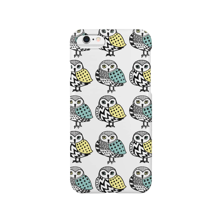 miuのふくろう Smartphone cases