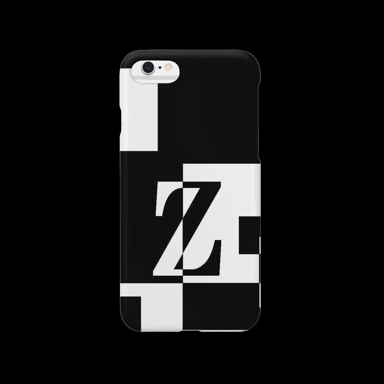 シンプルデザインアルファベットZ スマートフォンケース