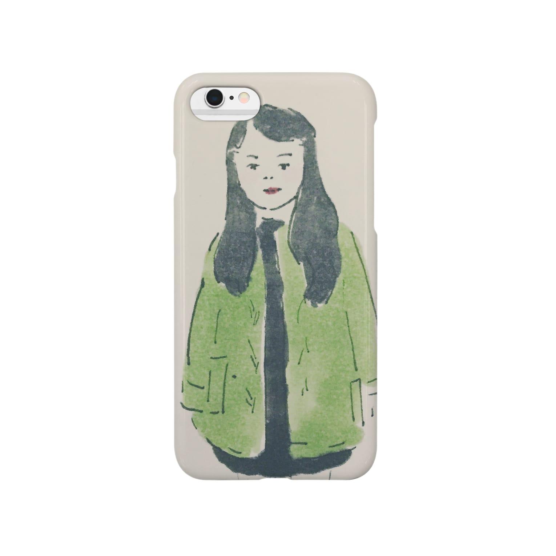 38のみどりちゃん Smartphone cases