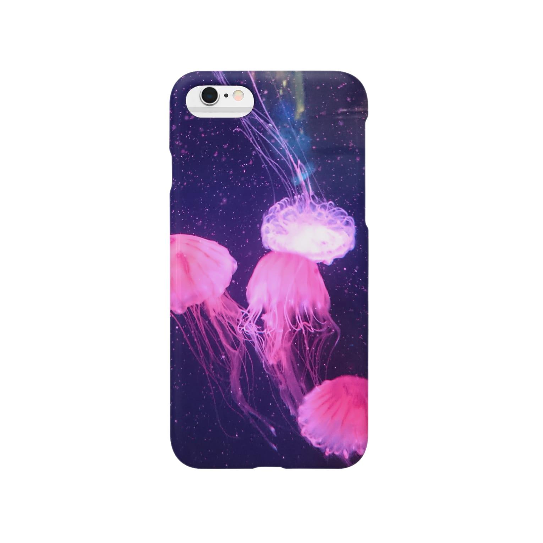 Daily×Fantasyのぴんくなくらげ。 Smartphone cases