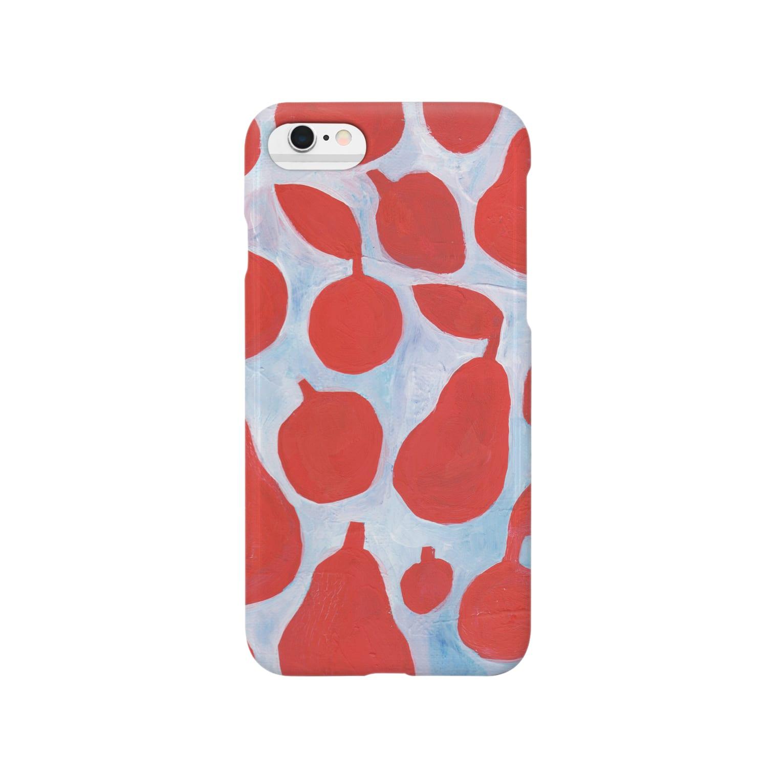 oka emiのフルーツたち Smartphone cases