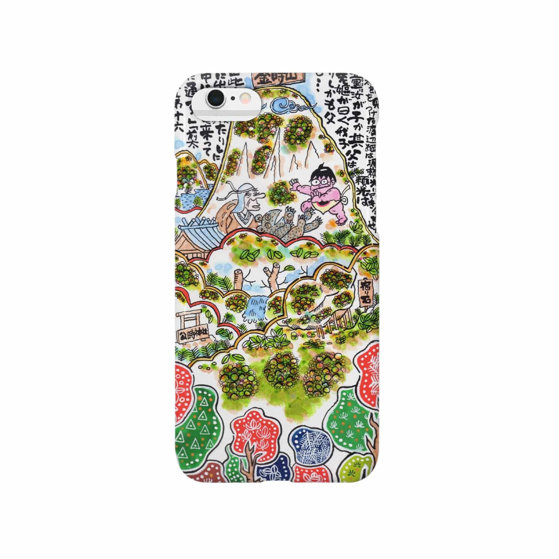 とよだ 時【ゆ-もぁ-と】の山旅漫歩゚ スマートフォンケース
