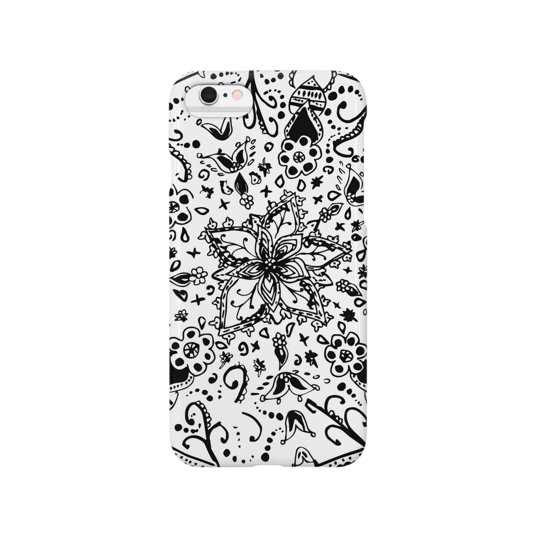 gaboの不思議手書き模様 Smartphone cases