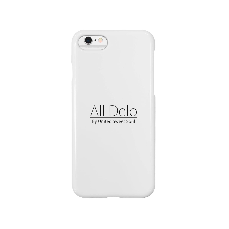 United Sweet Soul MerchのAll Delo Smartphone cases