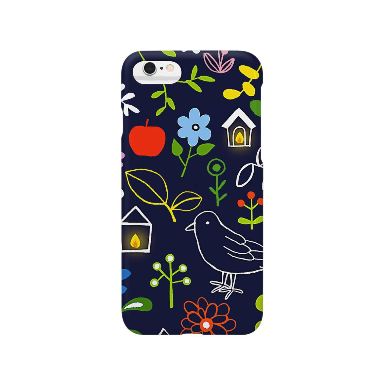 motoko torigoeのガーデン1(スマホ) Smartphone cases