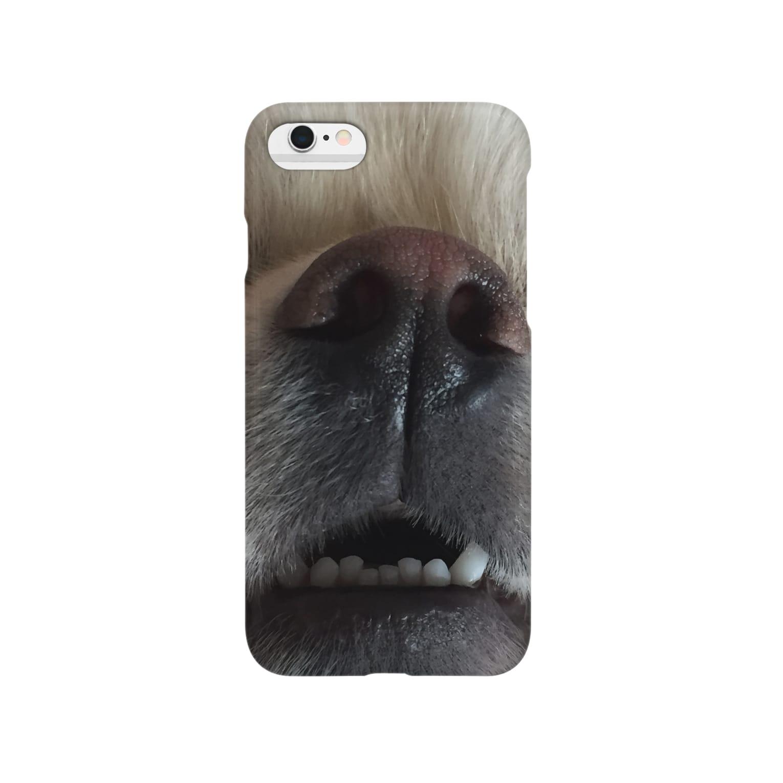 nasunの愛犬ラフくん Smartphone cases