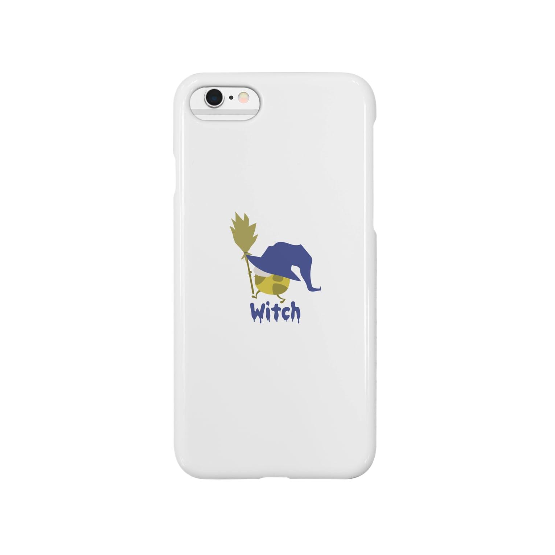 sakaの魔女っ子きりん Witch Smartphone cases