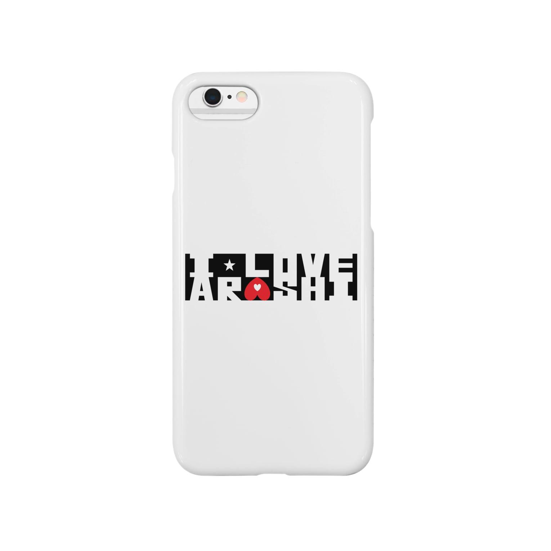 airabuwoのI Love Arashi. Smartphone cases