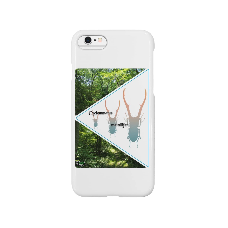 Tropics RAの「tropics RA」メタリフェルグッズ  Smartphone cases