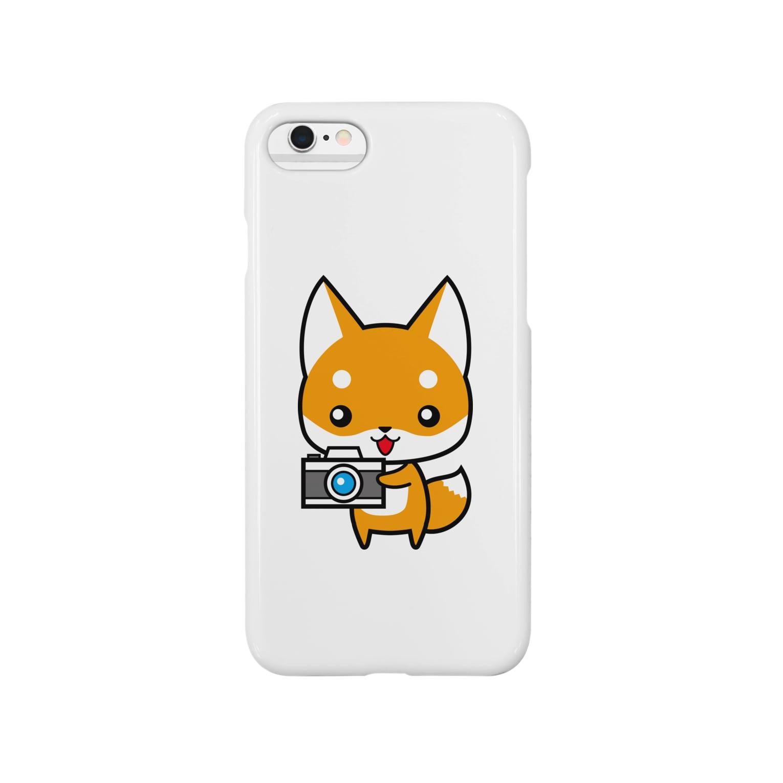 hide55のコンちゃん Smartphone cases