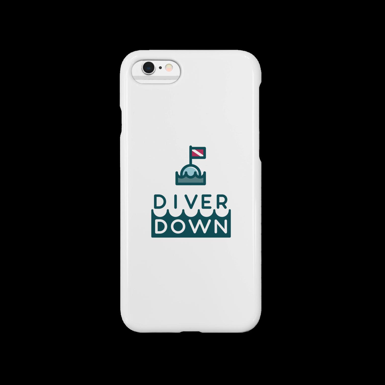 Diver Down公式ショップのDiver Downグッズスマートフォンケース
