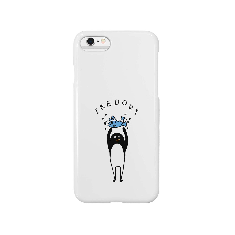 PokuStarの生け捕りするペンギン Smartphone cases
