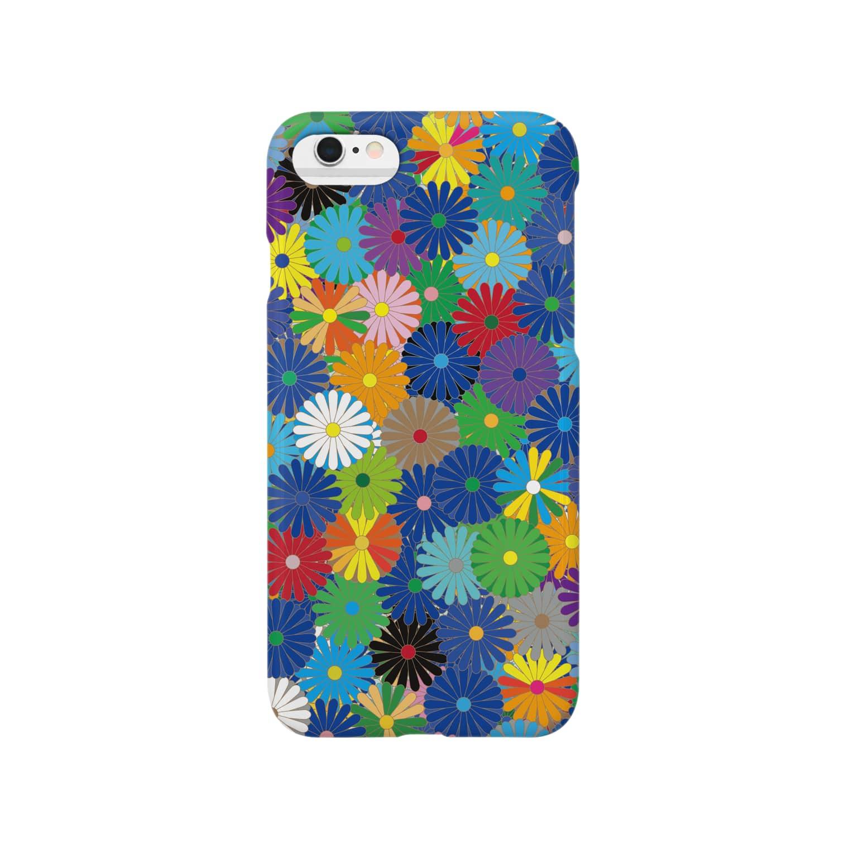 KULOKULOのRyoRan_001_Ao Smartphone cases