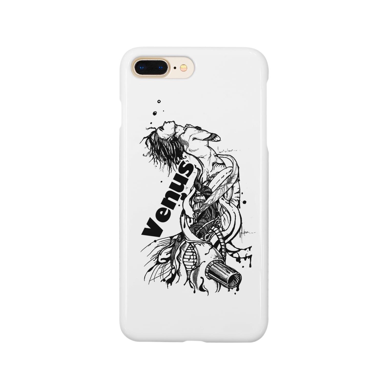 Jackpool の祈る女神兵器 Smartphone cases