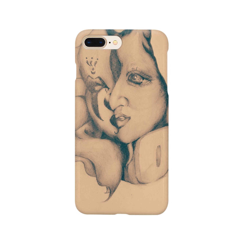 鈴木ま()のCrownおぶPierrot Smartphone cases