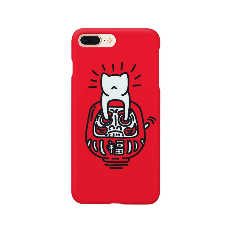 nekoichiのダルマネコ Smartphone cases