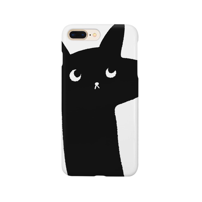 はるはらのラッキー猫 スマートフォンケース