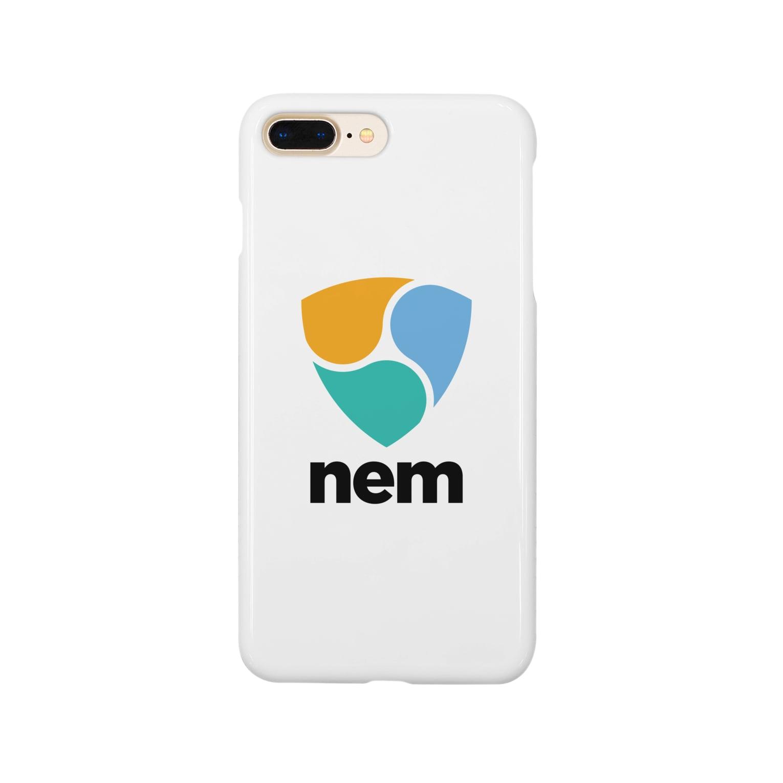 OWLCOIN ショップのNEM ネム スマートフォンケース