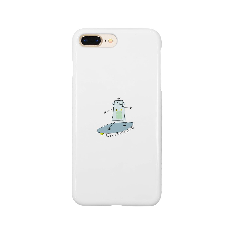 mashibuchiのろぼさーふ Smartphone cases