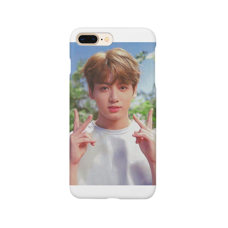 TATEKOMORIのBTS グク Smartphone cases