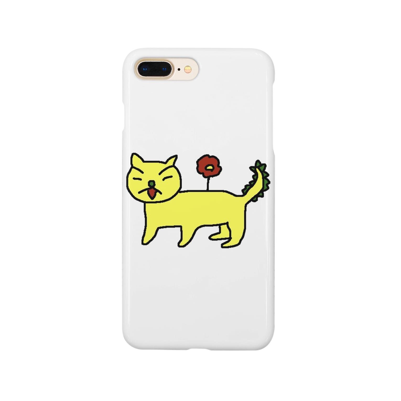 hha__m72のにゃんぬー Smartphone cases