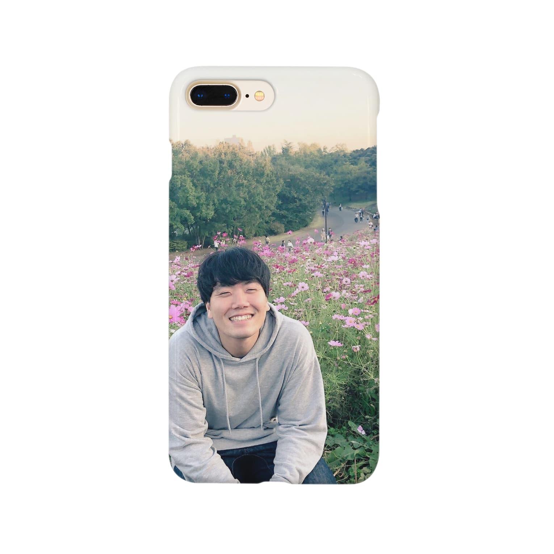 kasisukoonの牛女しらすとお花畑 Smartphone cases