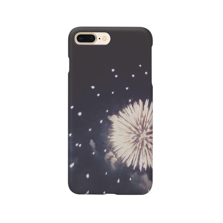 good nightの花火のかわいいところ Smartphone cases
