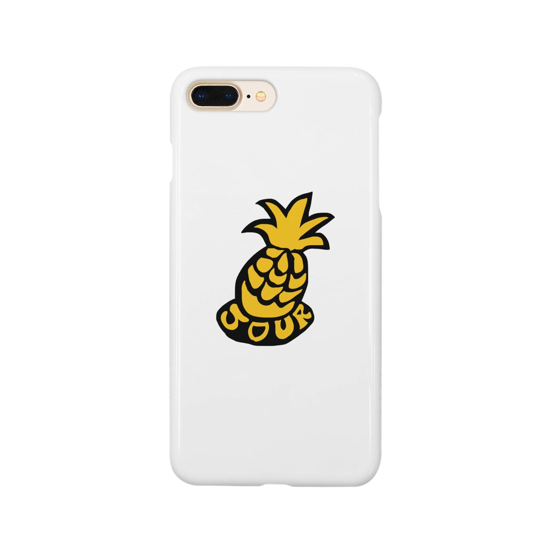yojiyojlのパインアップル Smartphone cases
