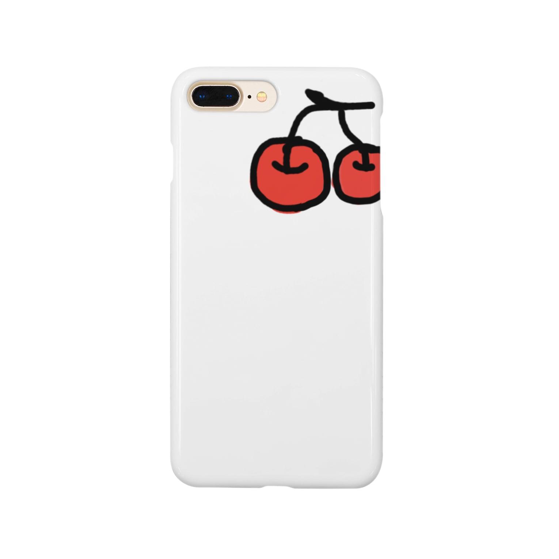 yijxx__のチェリー Smartphone cases