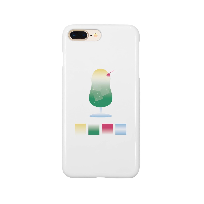hrsworld™のクリームソーダとカラーパレット Smartphone cases