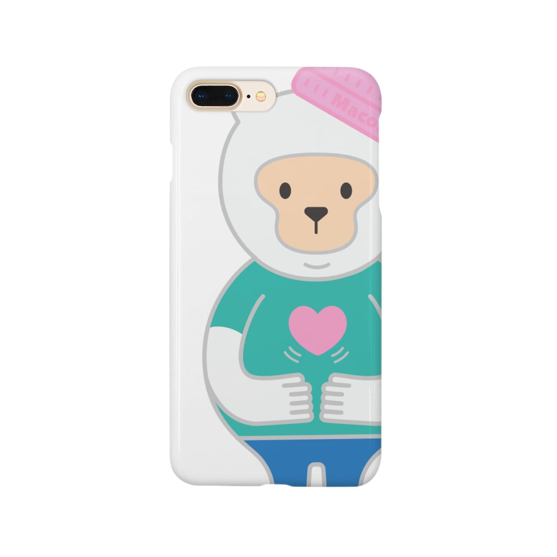 Maco's Gallery Shopの優しさバイブレーション Vo.1 Smartphone cases