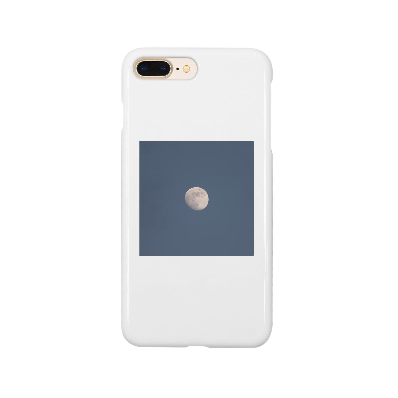 湯山のmoon Smartphone cases