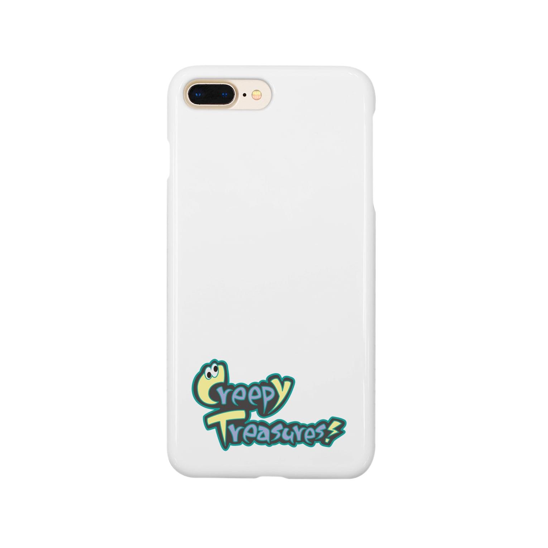 Creepy Treasures!のCreepy Treasures! Logo Smartphone cases