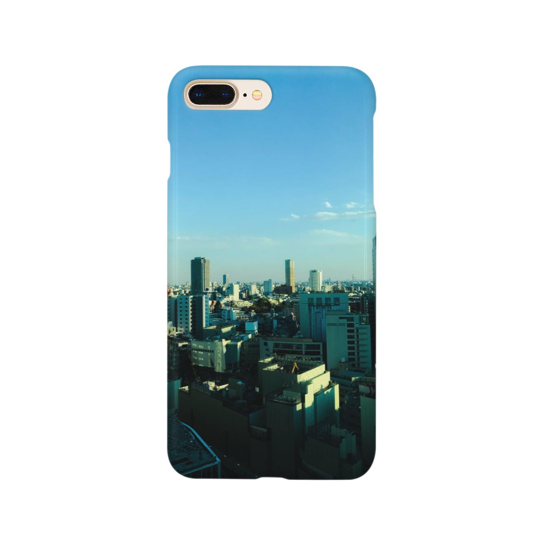 yuki-worksの(shibuya) Smartphone cases