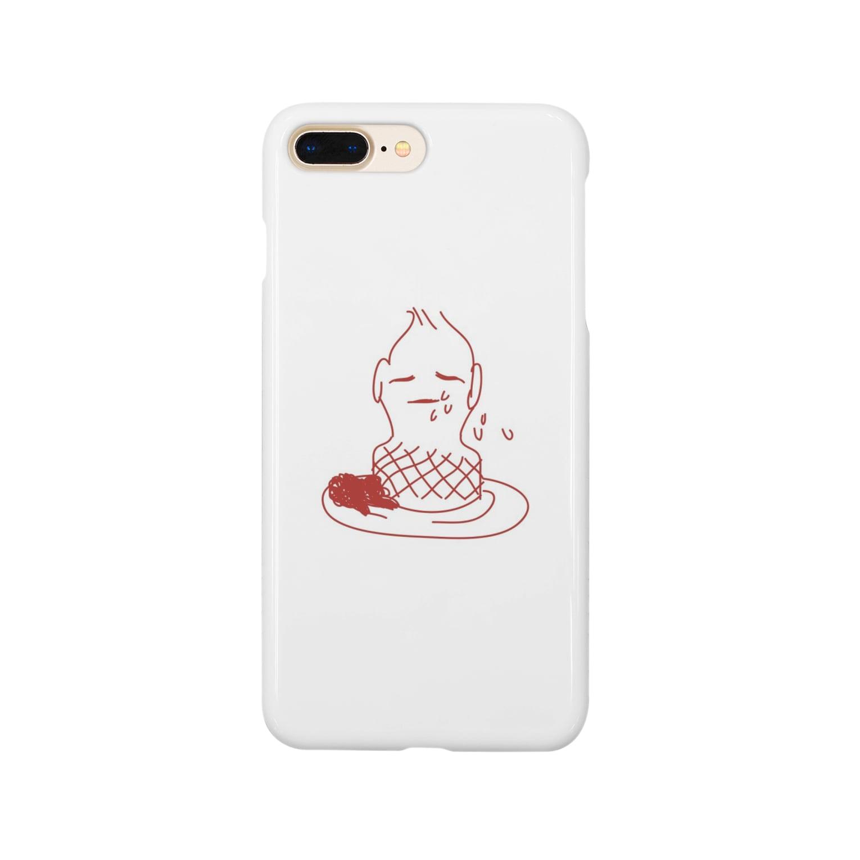 ocogeのマヨネーズボーイ Smartphone cases