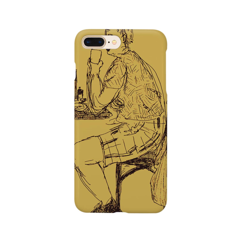 楽どじん@のbeer time Smartphone cases
