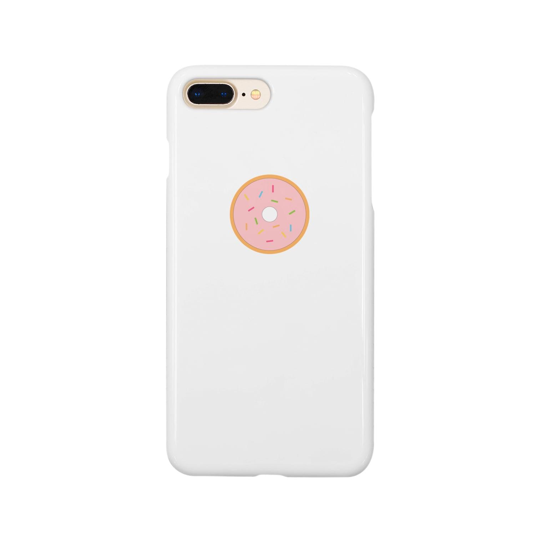 グィチャンのストロベリードーナツ Smartphone cases
