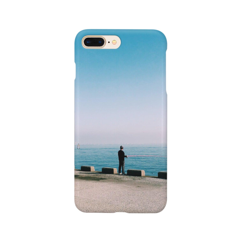 Shogo Hirokiの釣り人 Smartphone cases